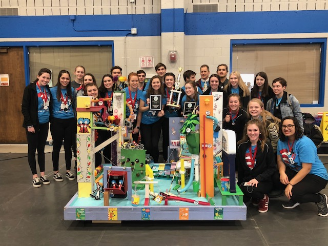 Rube Goldberg contest winners