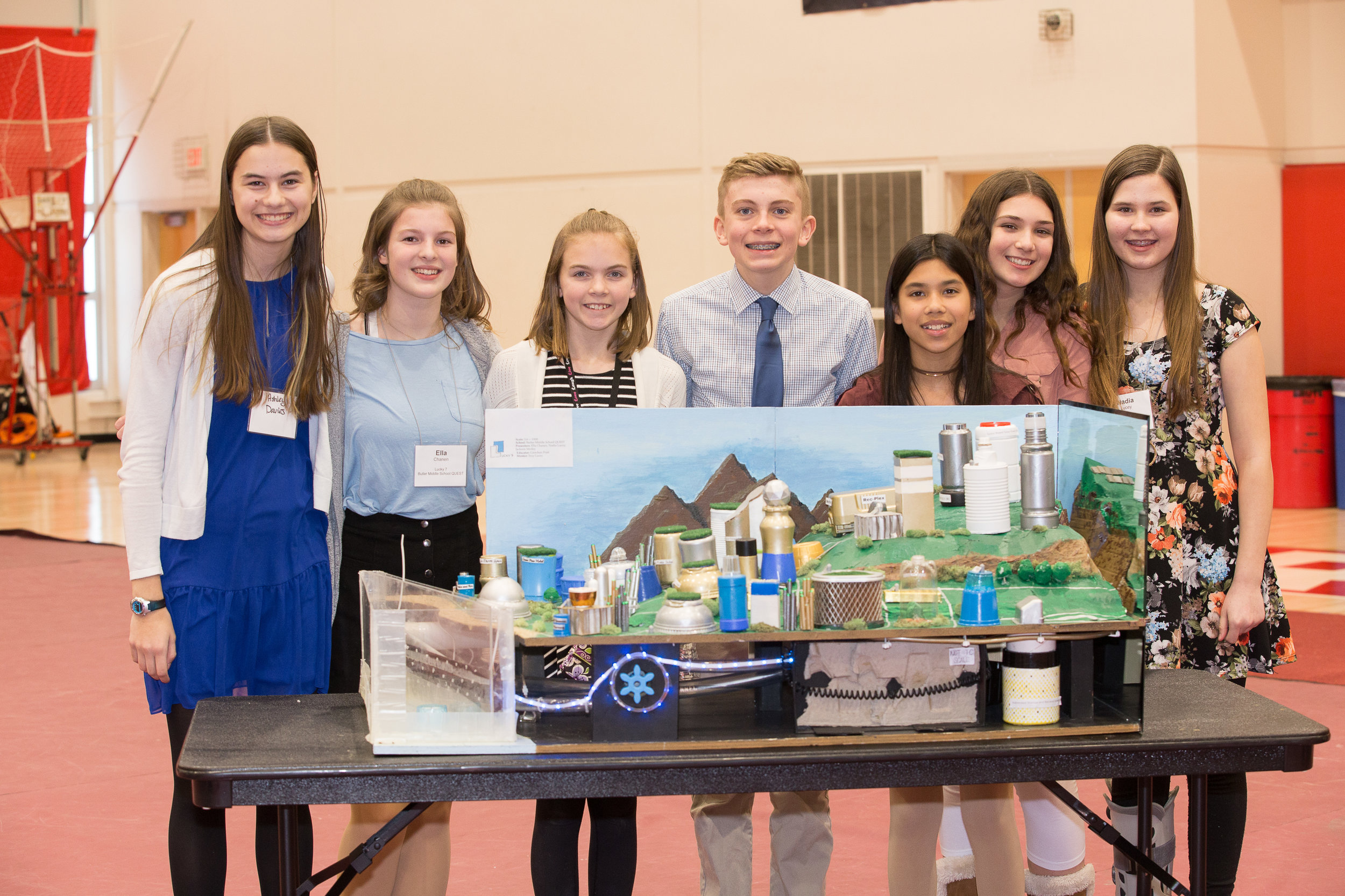 Butler Middle School students are going to Washington D.C. to compete in Nationals!