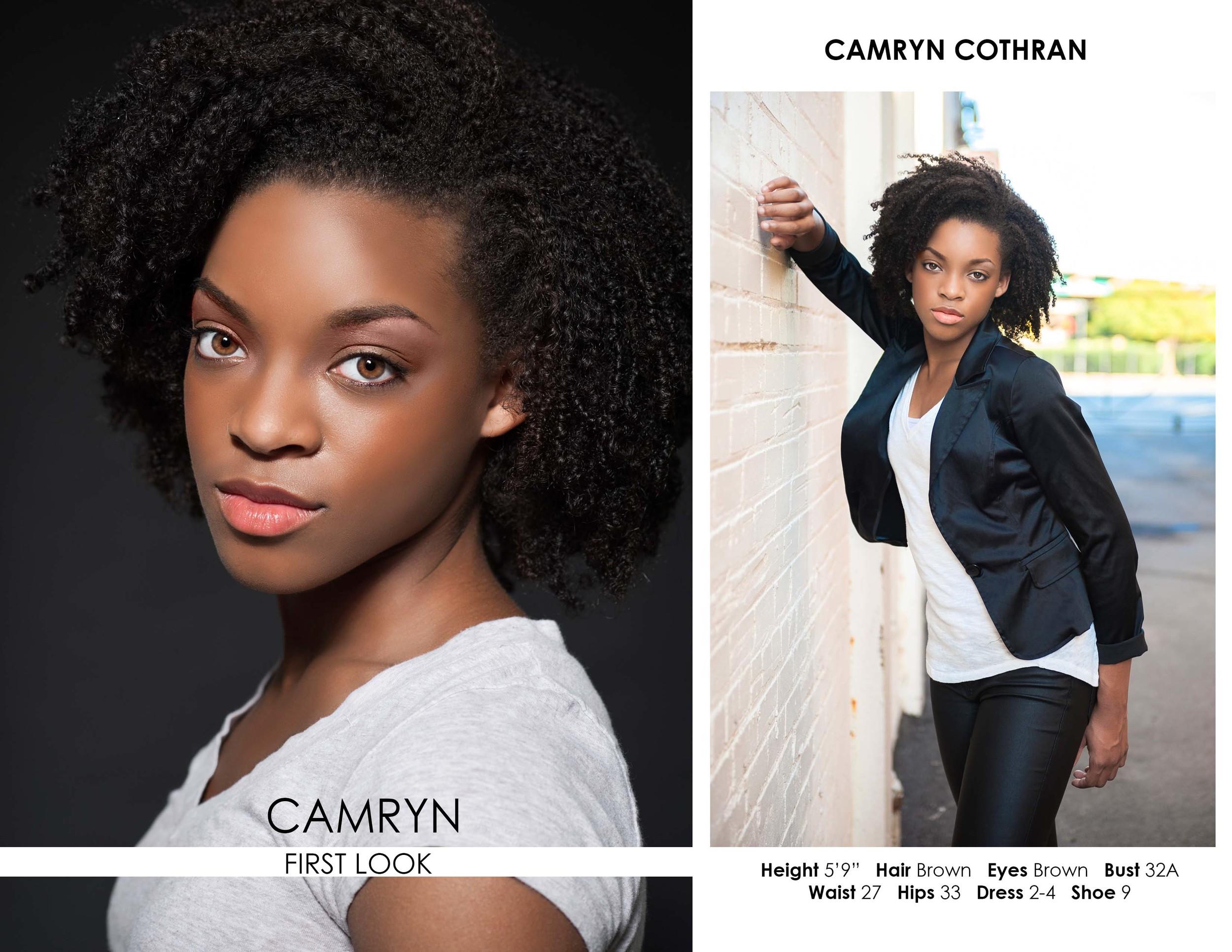 Camryn Model Comp