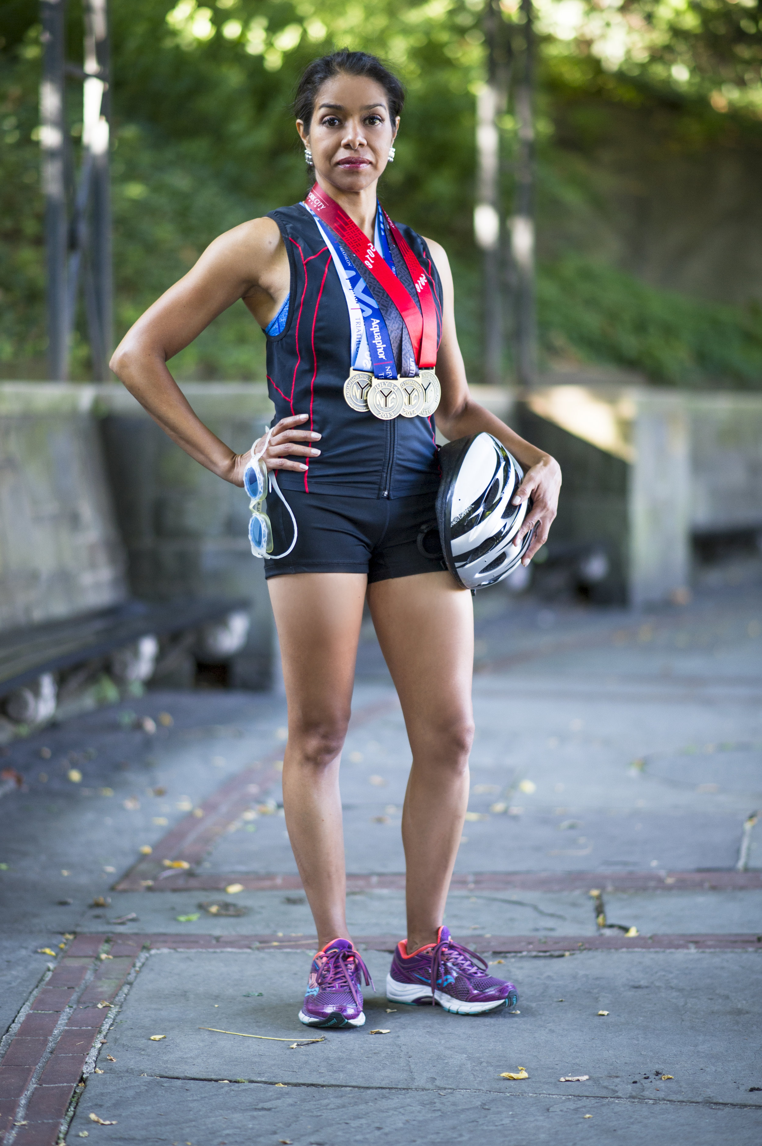"September 2016 ""NYC Tri-Athlete Jerusha Ramos"""