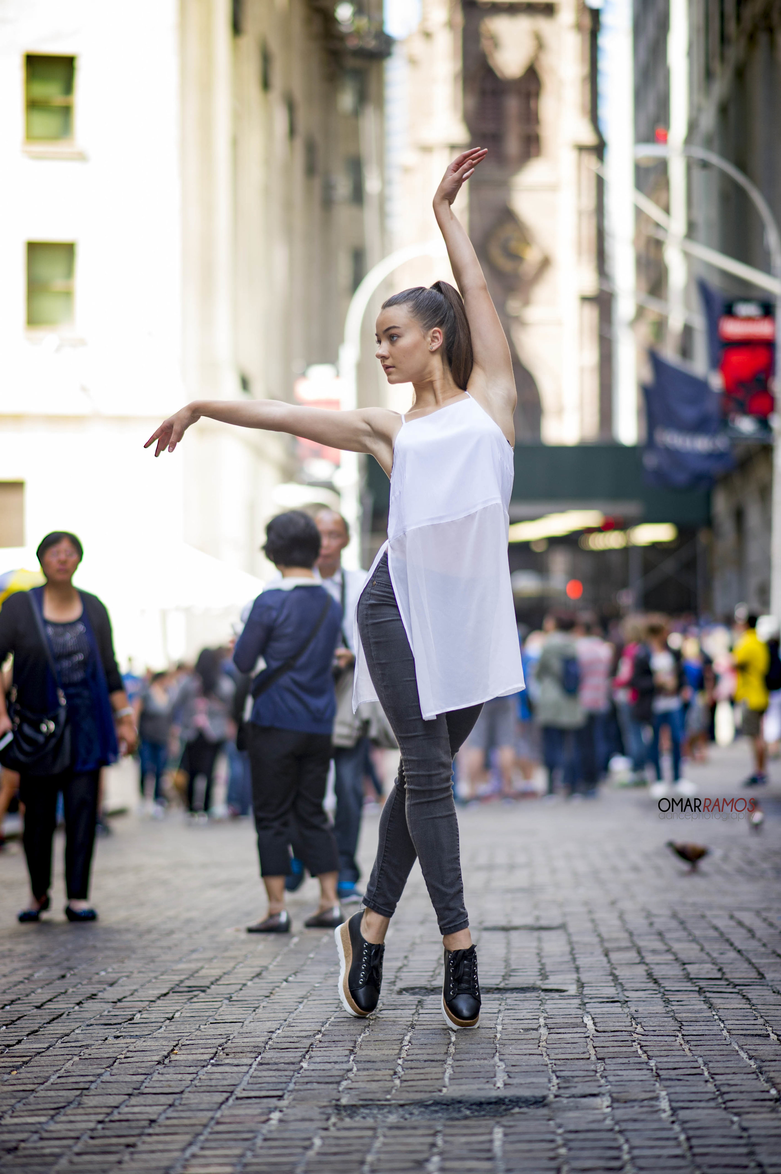 "September 2016 "" Wall Street"" Dancer Alexis"