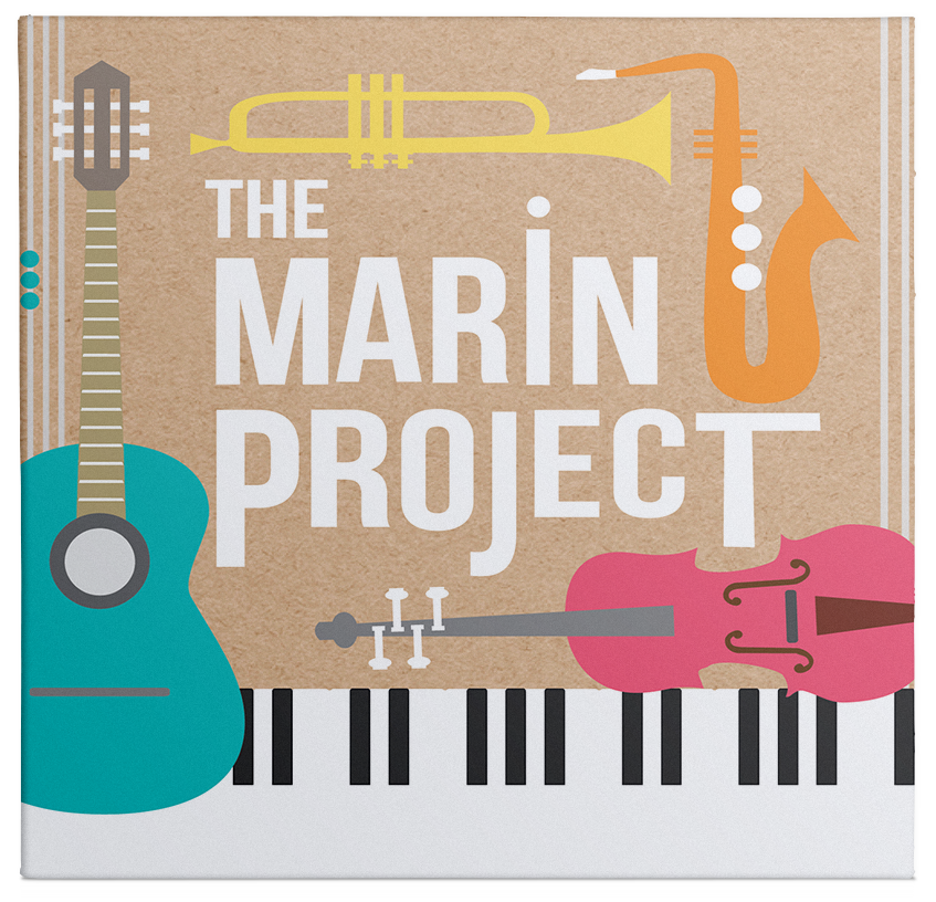Listen, download and purchase The Marin Project CD