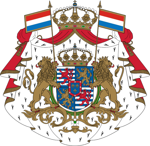 Photo credit:https://commons.wikimedia.org/wiki/File:Armoiries_Luxembourg_Bourbon_avec_ornements.svg