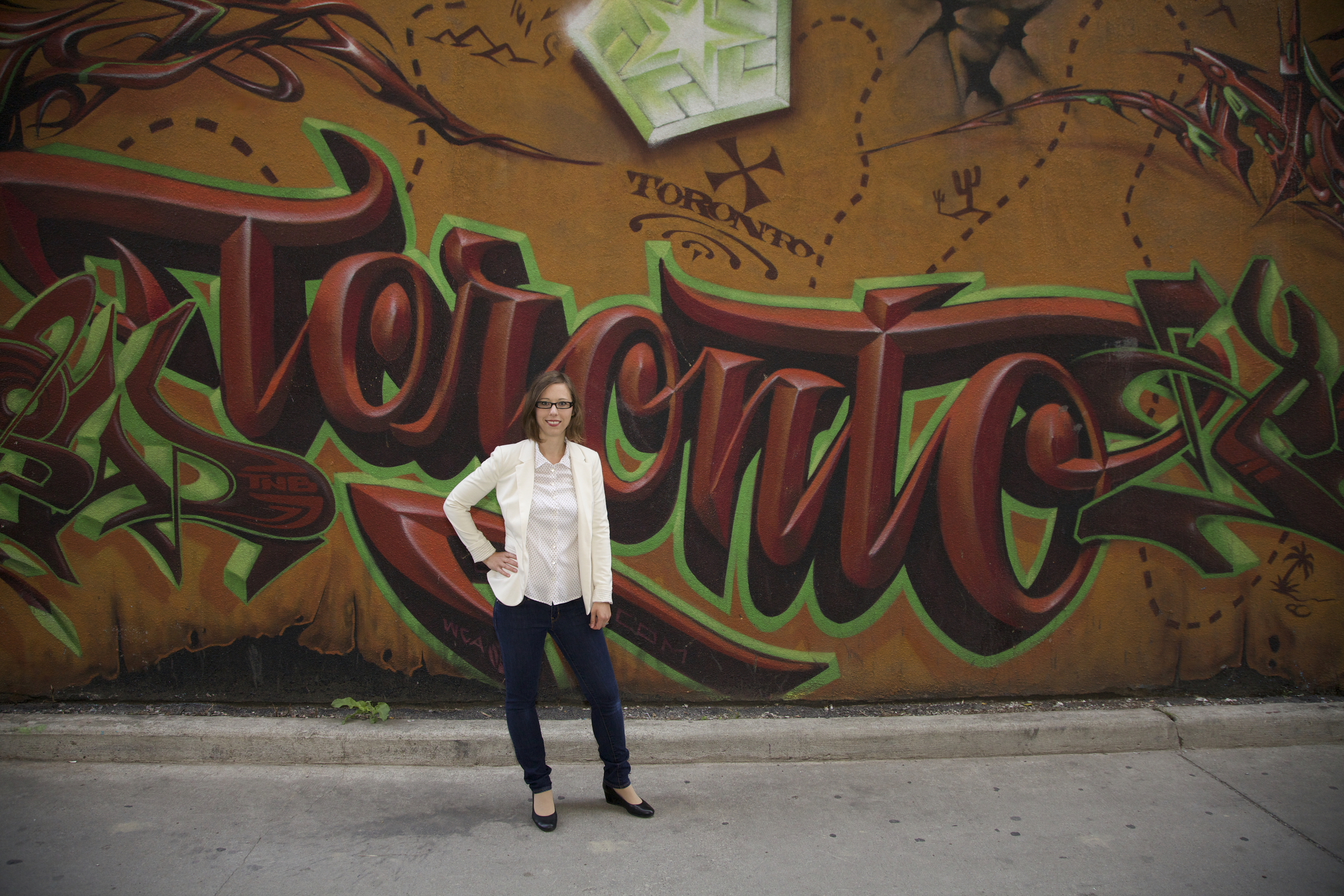 Liz Wenger in Toronto, Canada