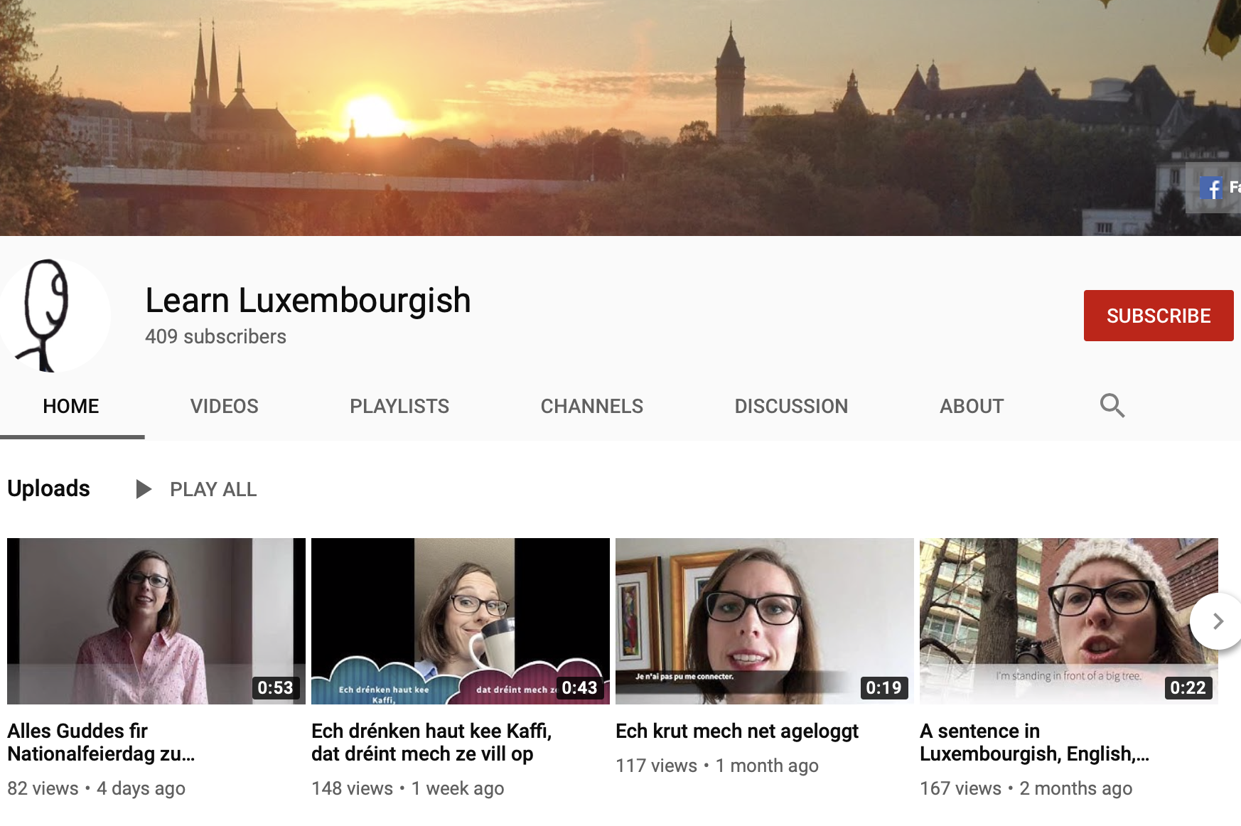 Learn Luxembourgish for free on youtube