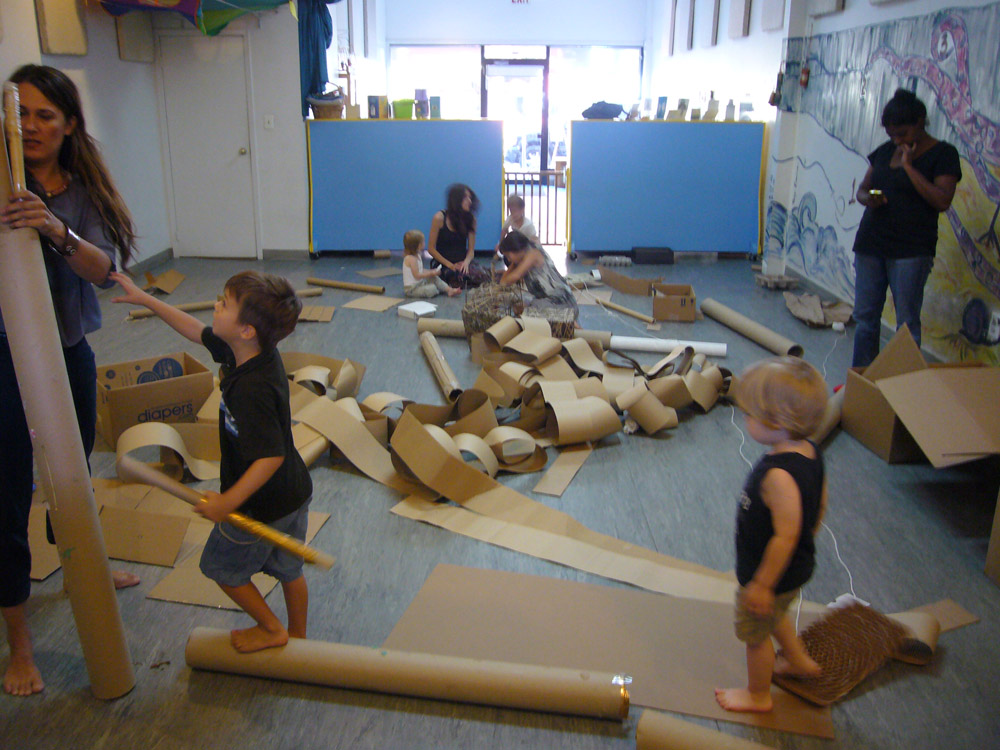 High, low, up and down: Cardboard World!