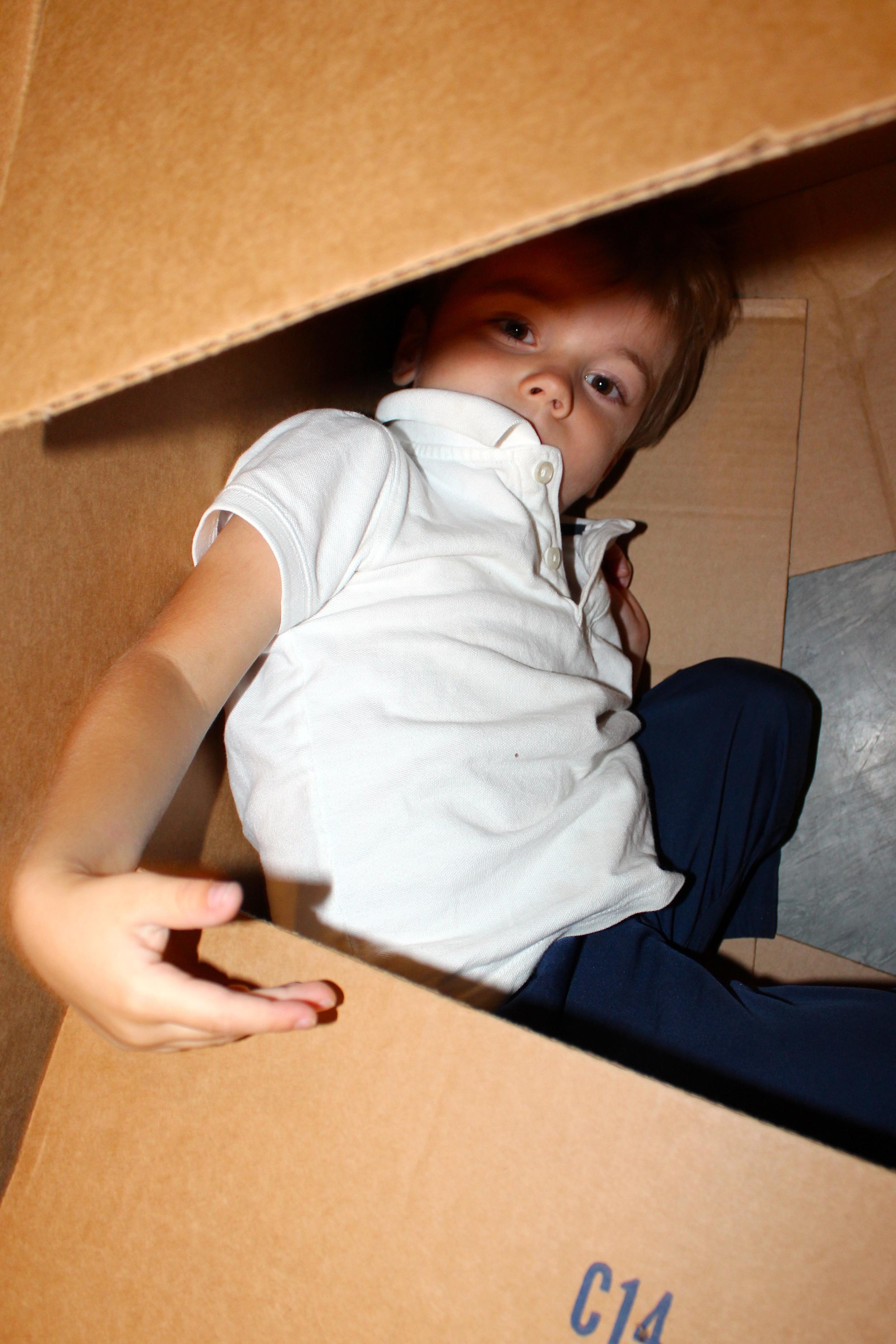 Box panel hideout.