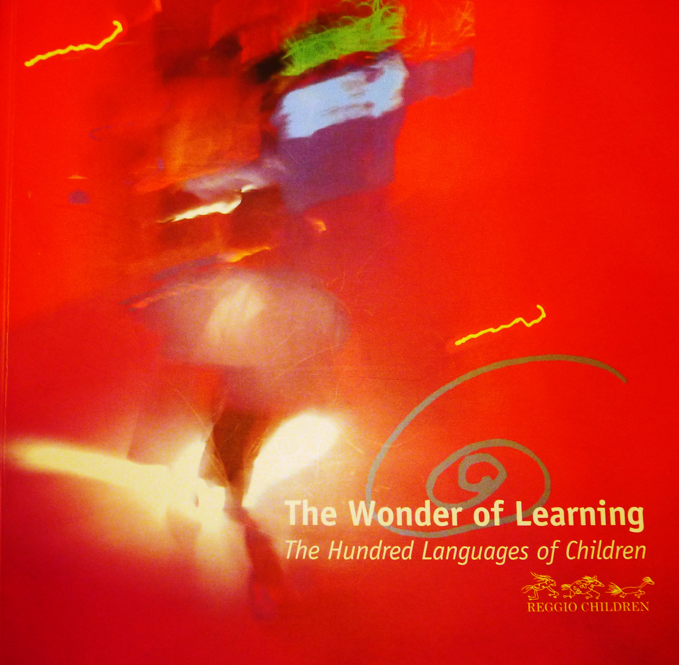 The cover of the excellent  The Wonder of Learning  printed Exhibition Catalog. The ongoing documentation of images and children's words are deceptively simple. There is so much beauty and poetry, recorded in Italy and displayed in the exhibition and its companion book, and we are so excited to see it all in person, this January through May in our own hometown of Brooklyn NY.