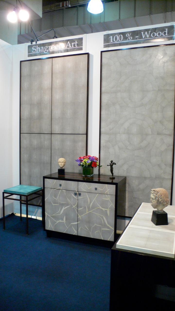 Shagreen Art Booth at ICFF 2009