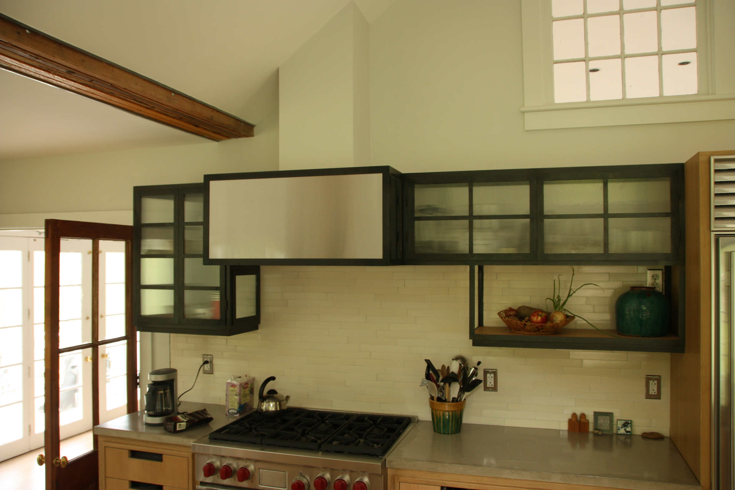 Custom Metal Kitchen Cabinets — Custom Metal Work and ...