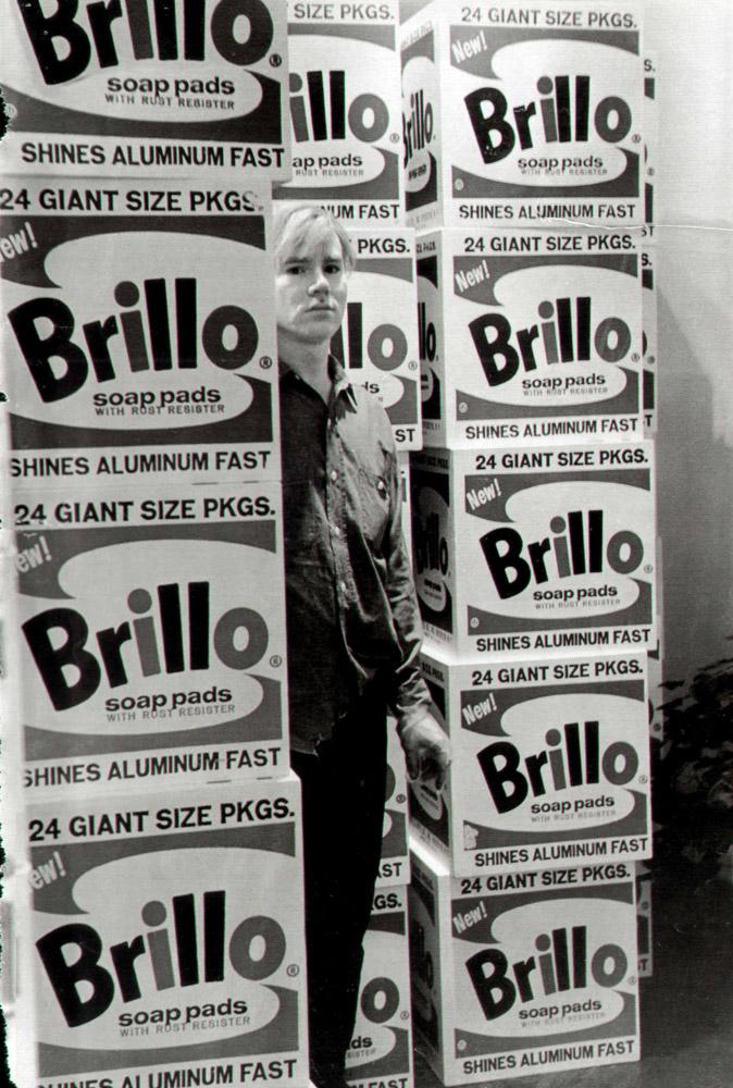 Warhol - Brilol Boxes   Fred W McDarrah/Getty Images