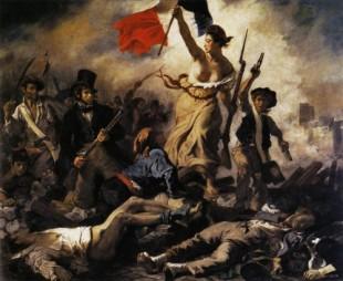 Liberty Leading the People -Eugène Delacroix