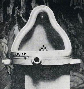 Duchamp's Fountain, Photographed by Alfred Stieglitz