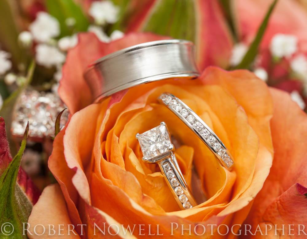 wedding rings, Niagara wedding photographer