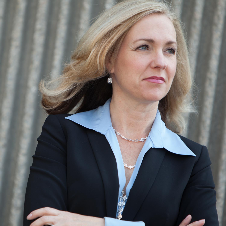 executive portrait Pam Griffith