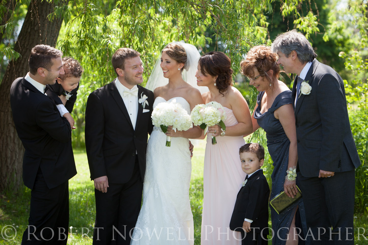 wedding family Niagara , Welland, Robert Nowell