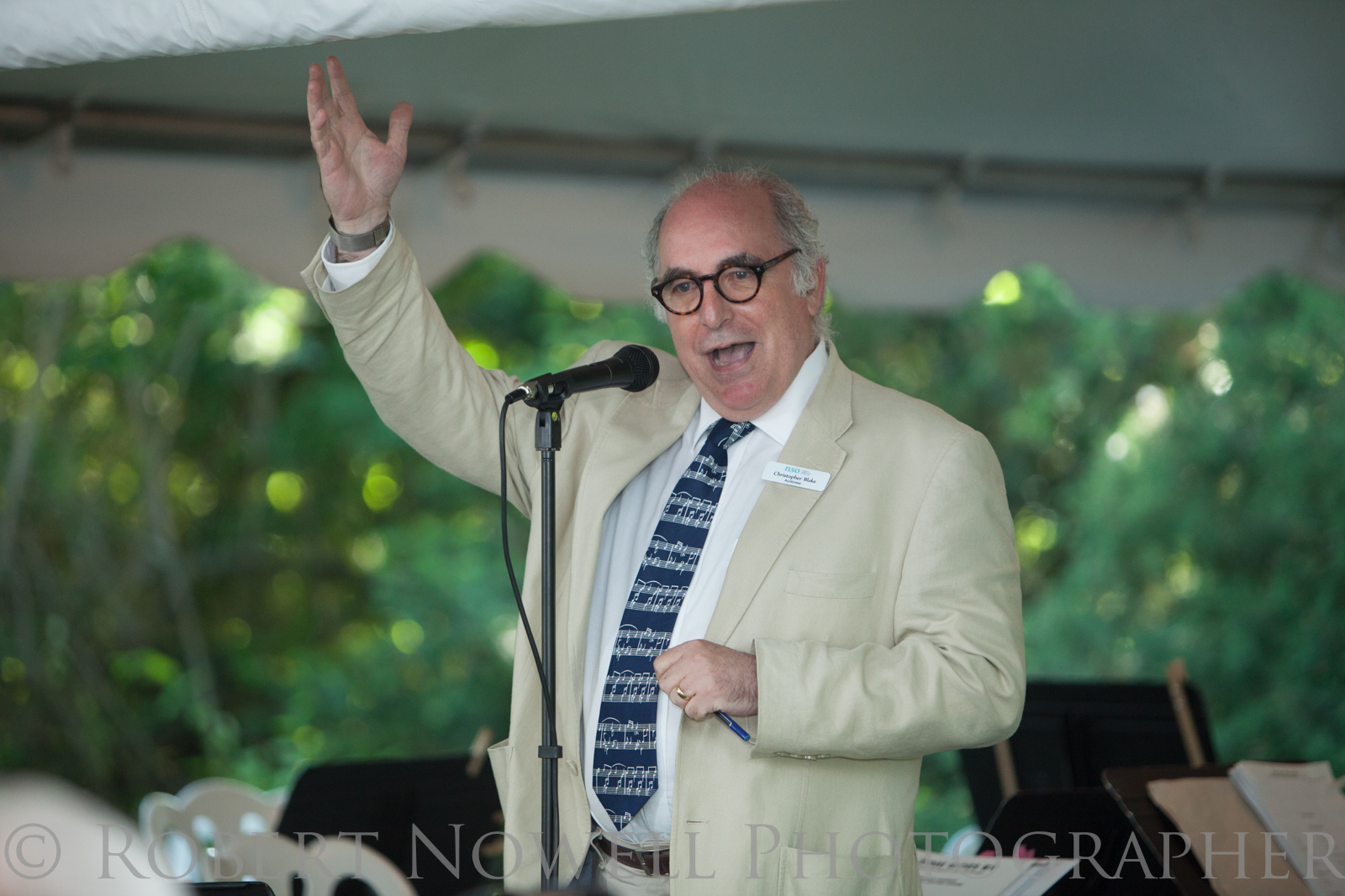 Auctioneer Christopher Blake, Niagara on the Lake weddings
