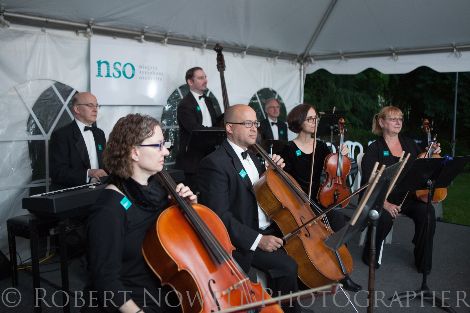A select group of the Niagara Symphony performed some Gershwin inspired melodies.
