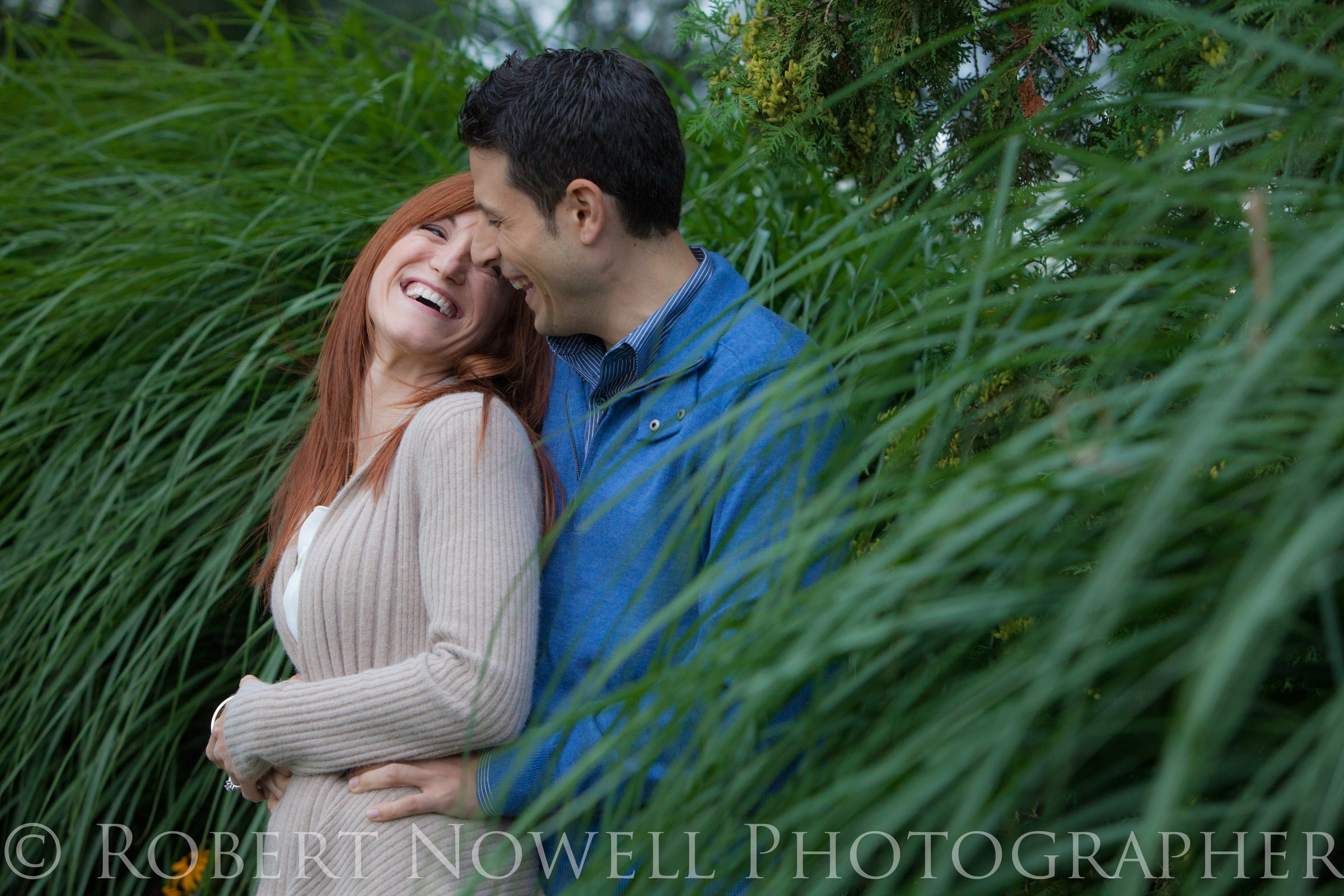 Port Dalhousie couple in grass