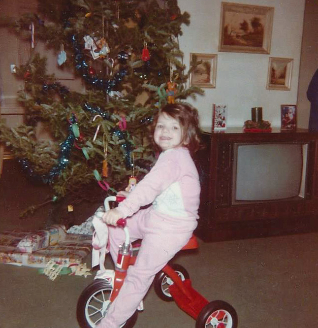 Loved that tricycle!