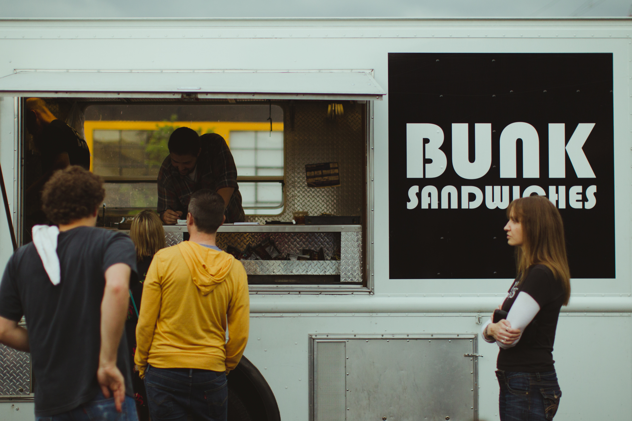Bunk Sandwiches made an appearance slinging their signature eats.