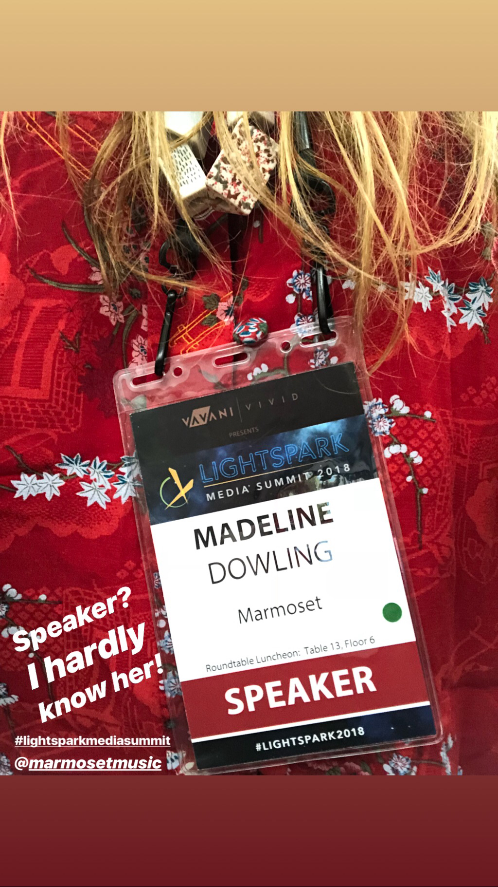 Madeline Dowling Marmoset Lightspark
