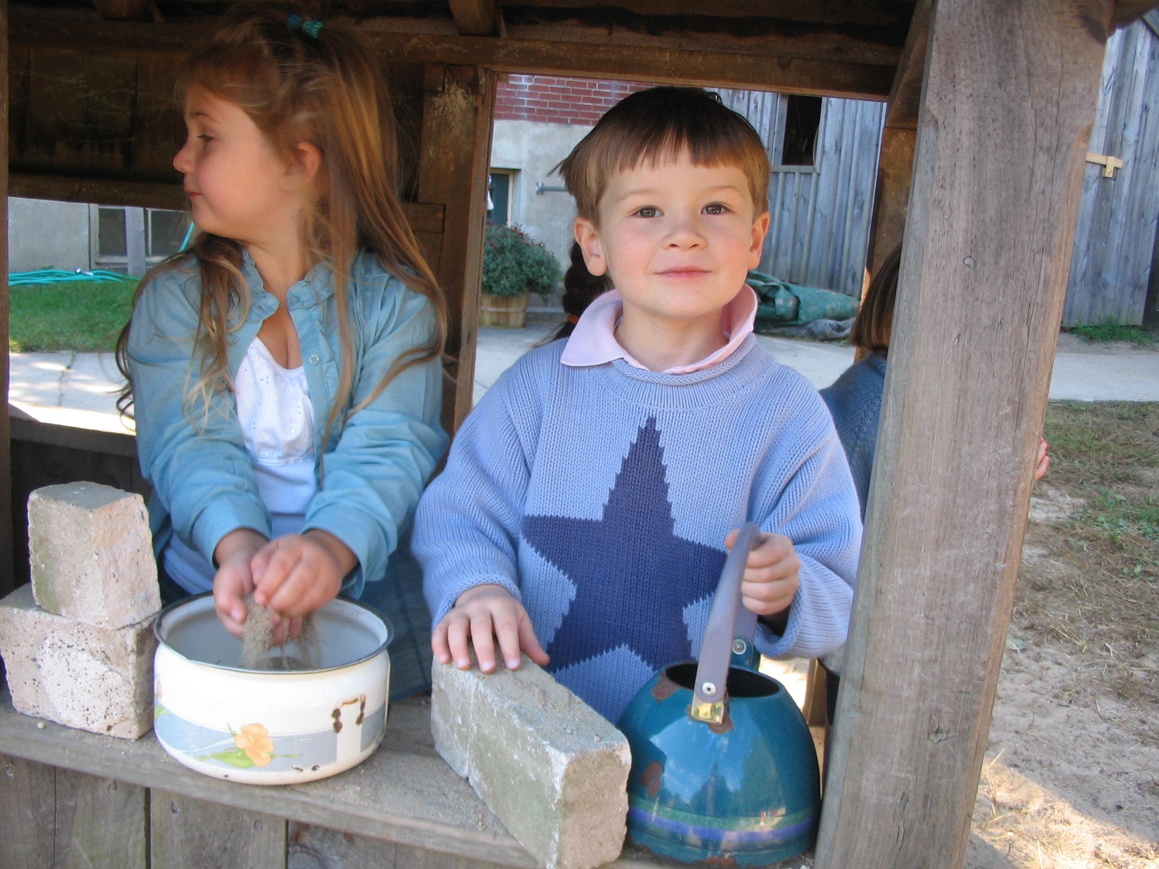 outdoor play preschool