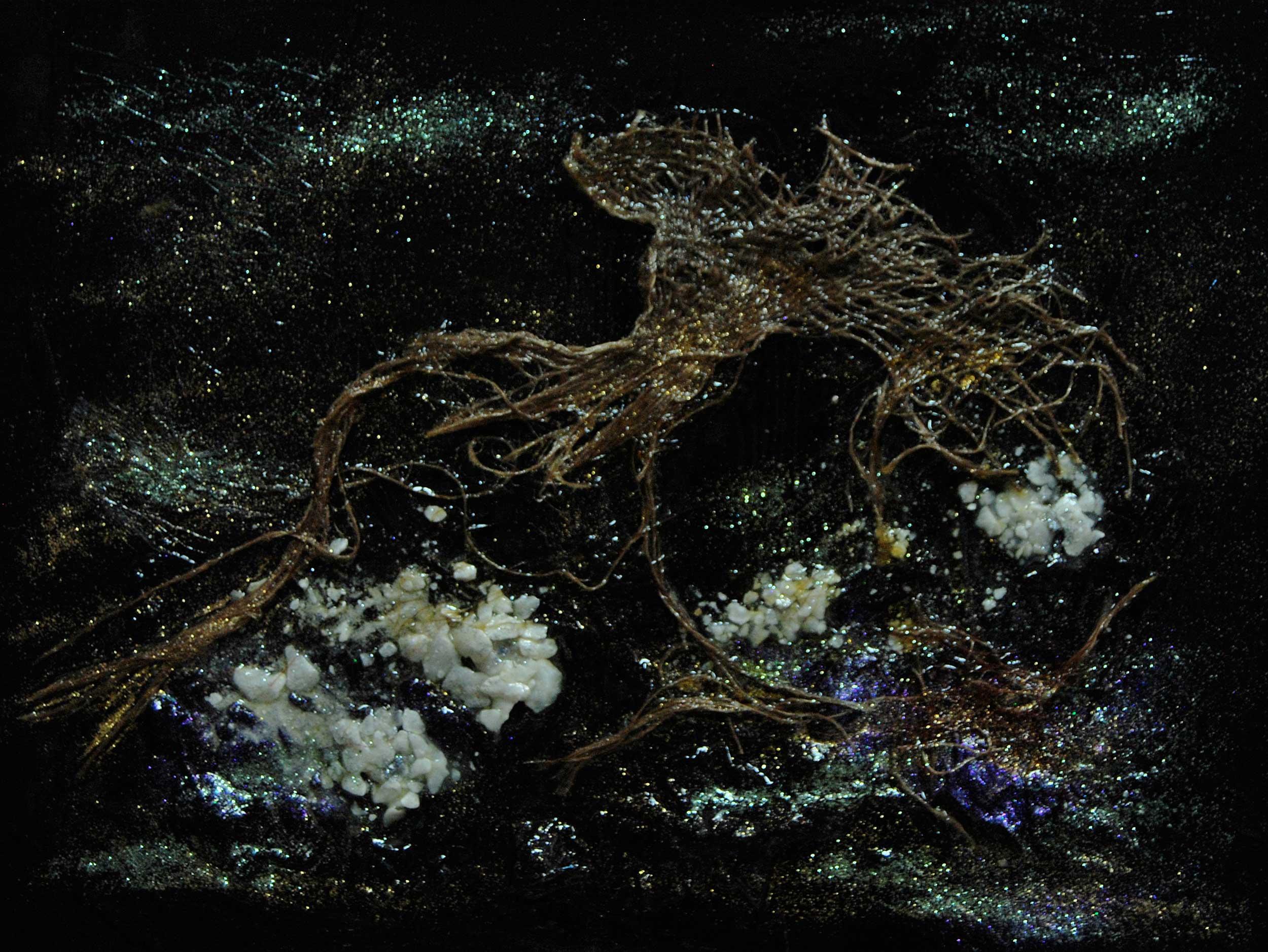 Yoshiko_Ikeda_04_Cambrian-Explosion-Ⅲ-Melesio_2011_12x16_Mix-media-Sm.jpg