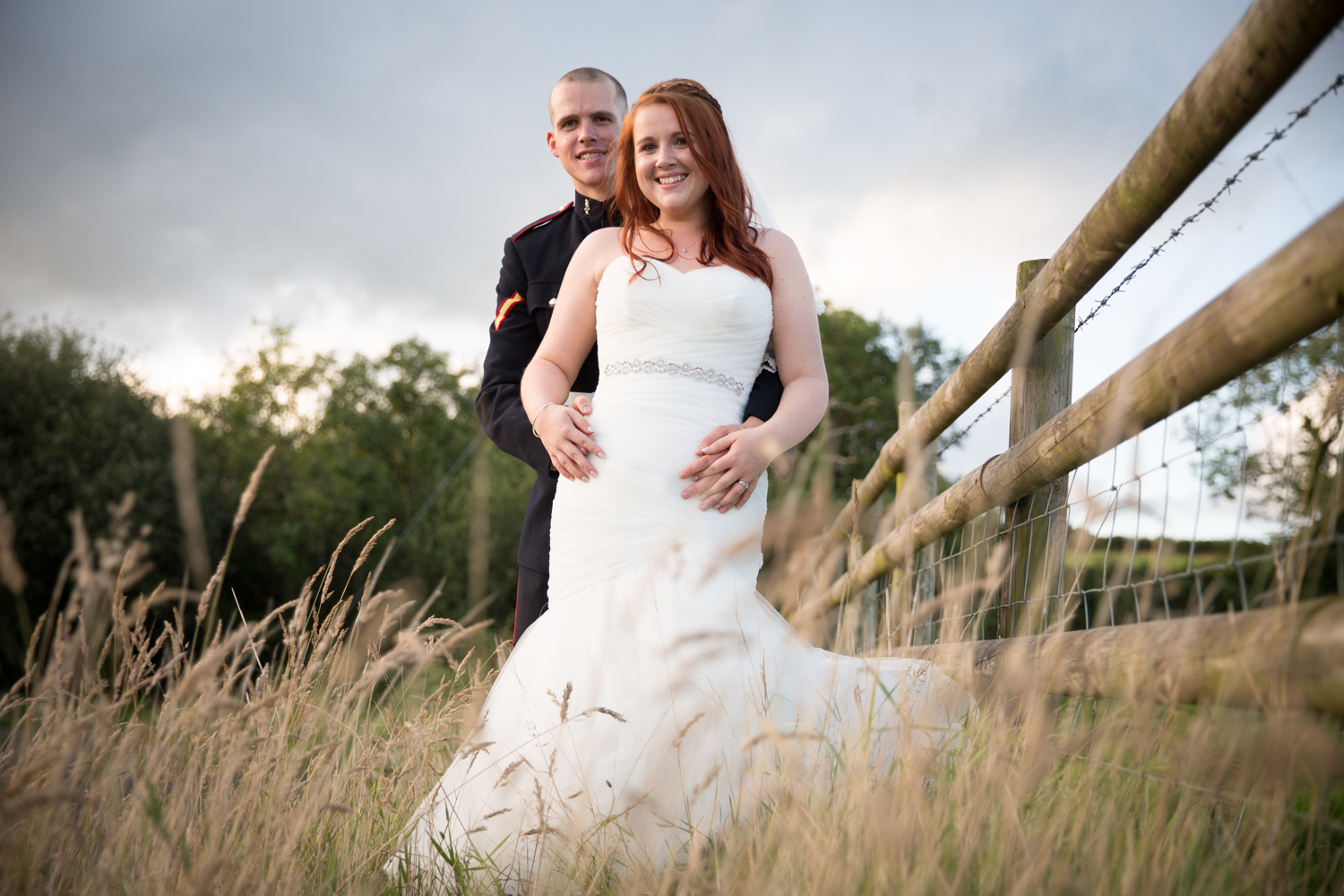 """We couldn't have asked for a better photographer to capture our day, we would recommend Andy to anyone. Everyone felt so relaxed all day. We have beautiful photos that capture every emotion of our day. Thank you so much Andy"" - - Steph & Aj"