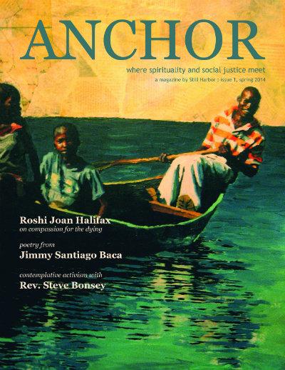 """Anchor Magazine, Issue 01, Spring 2014 Artwork: """"Victoria"""" by Kirby Erlandson"""