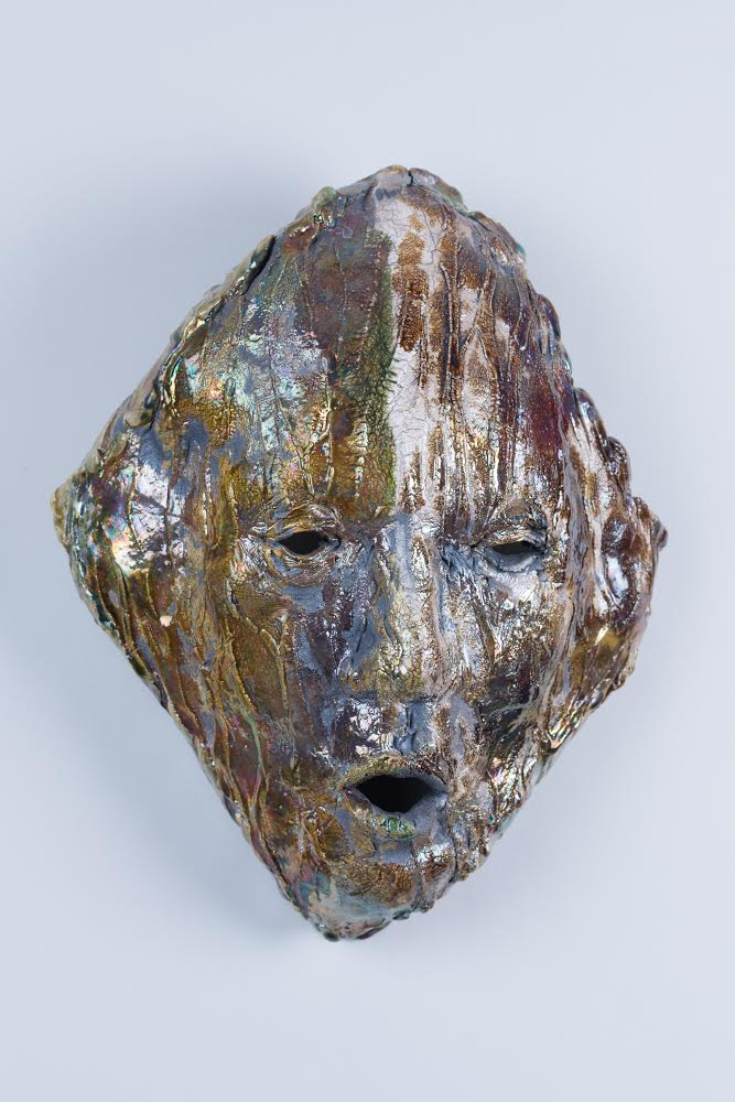 Untitled, Ceramic Mask (Awarded to 2014 Vanguard Music Award Recipient, Ellis Hall)