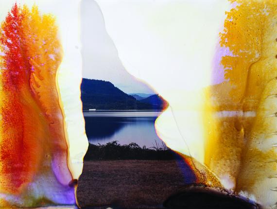 Image:   Klamath Lake, OR 2, 2009, byMatthew Brandt, via  tricycle