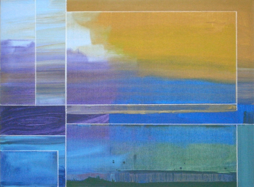 "Sea Light  by David Kupferman Acrylic on Canvas, 30"" x 40"""
