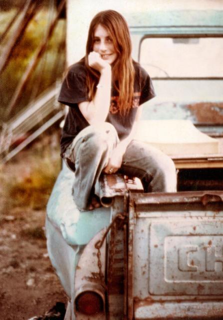 Photo of Mirabai Starr as a teen