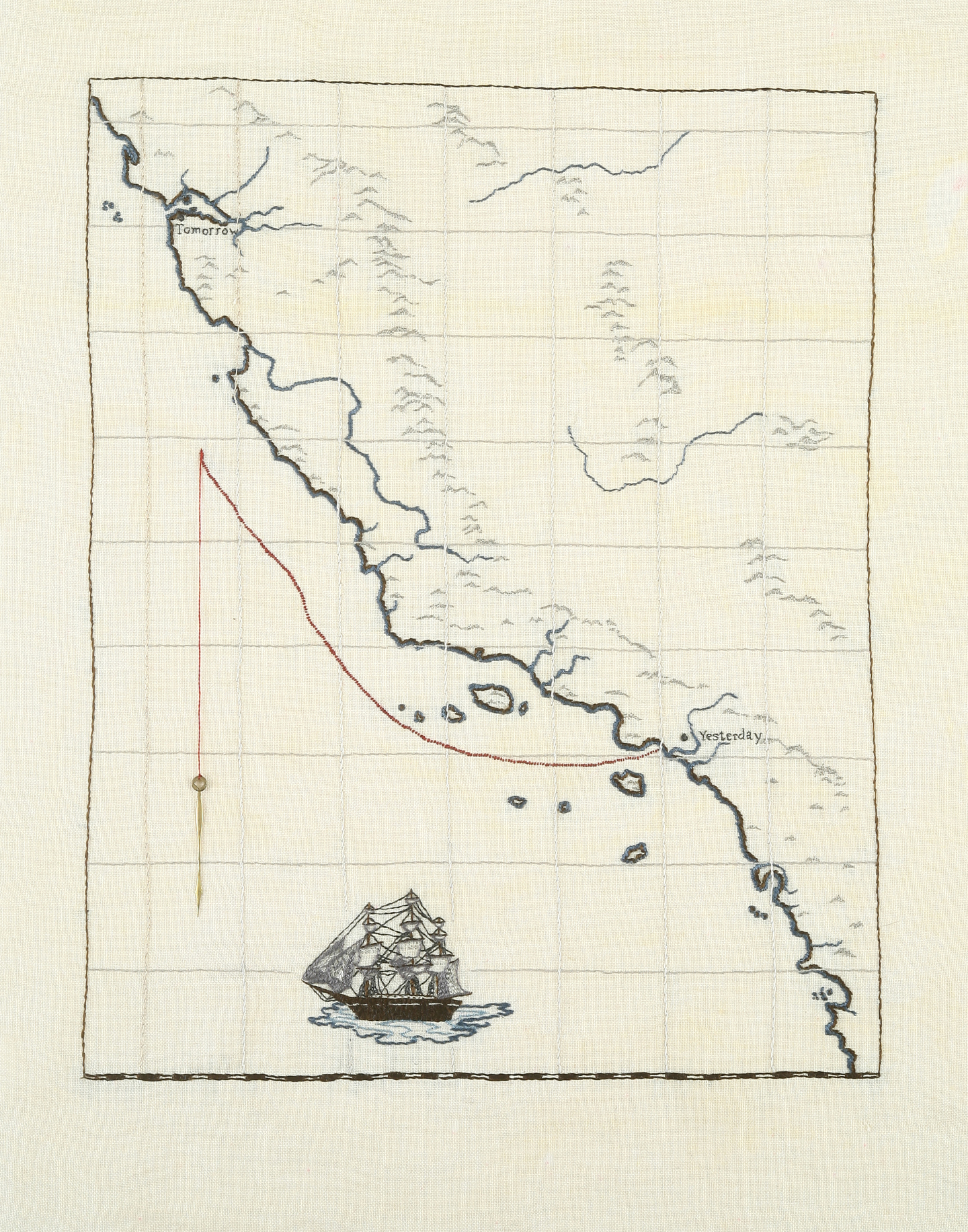 Lost, Somewhere Off the Coast of C____