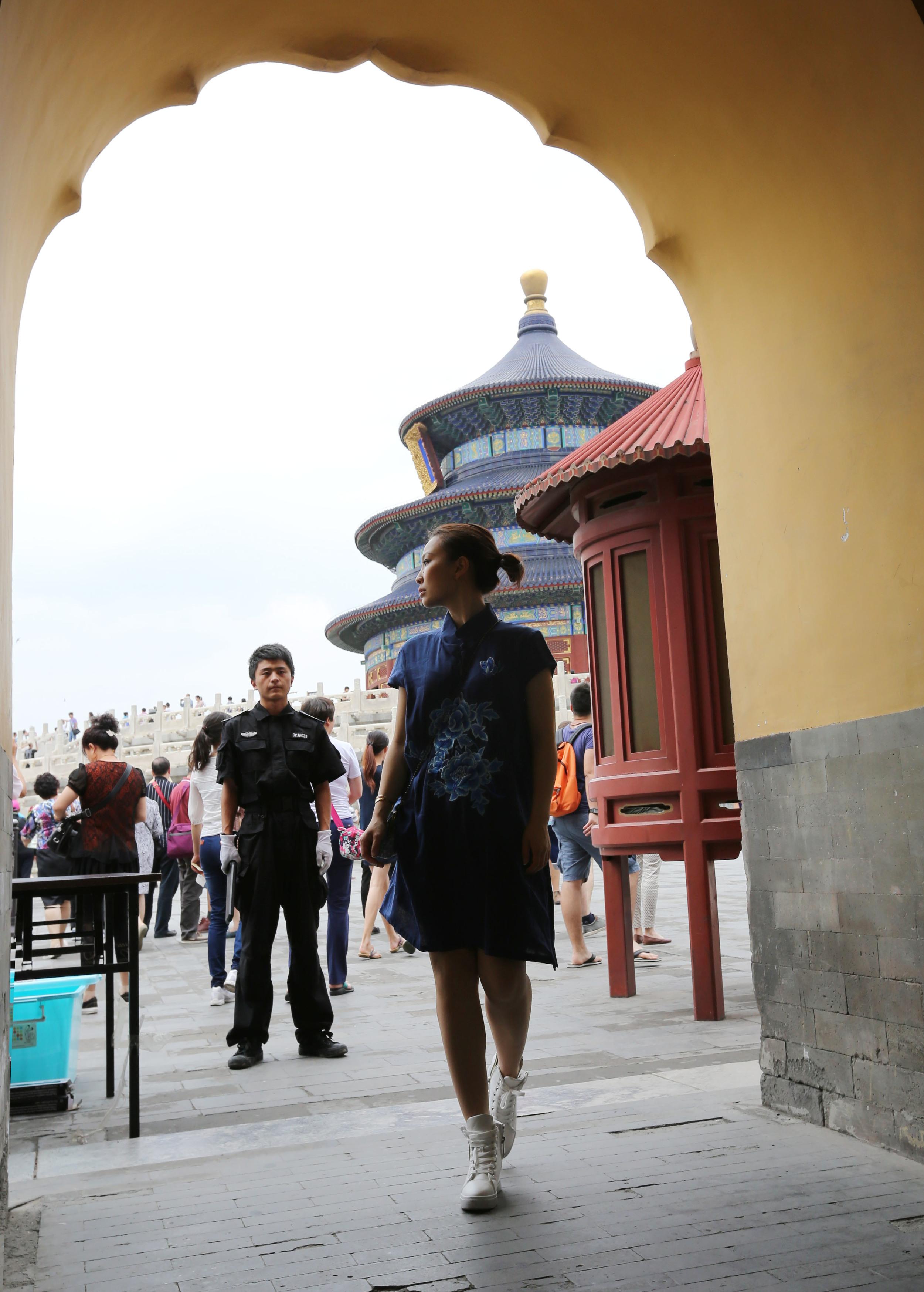 Travel in Beijing:TianTan gate.jpg