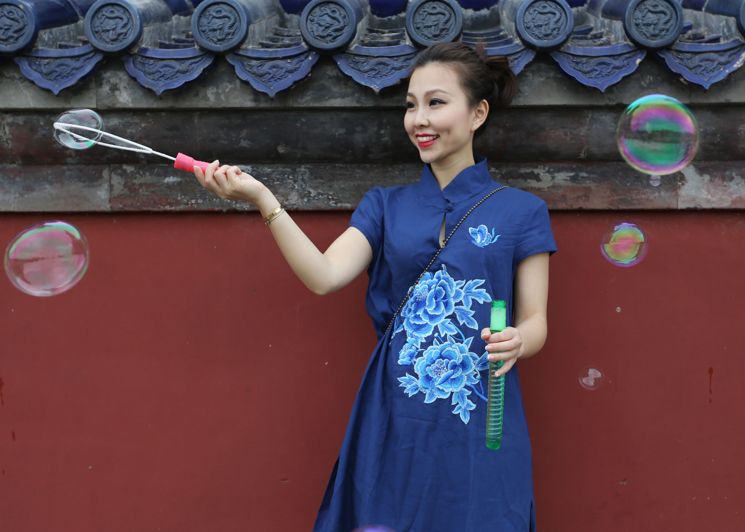 Travel in Beijing:TianTan fun.JPG
