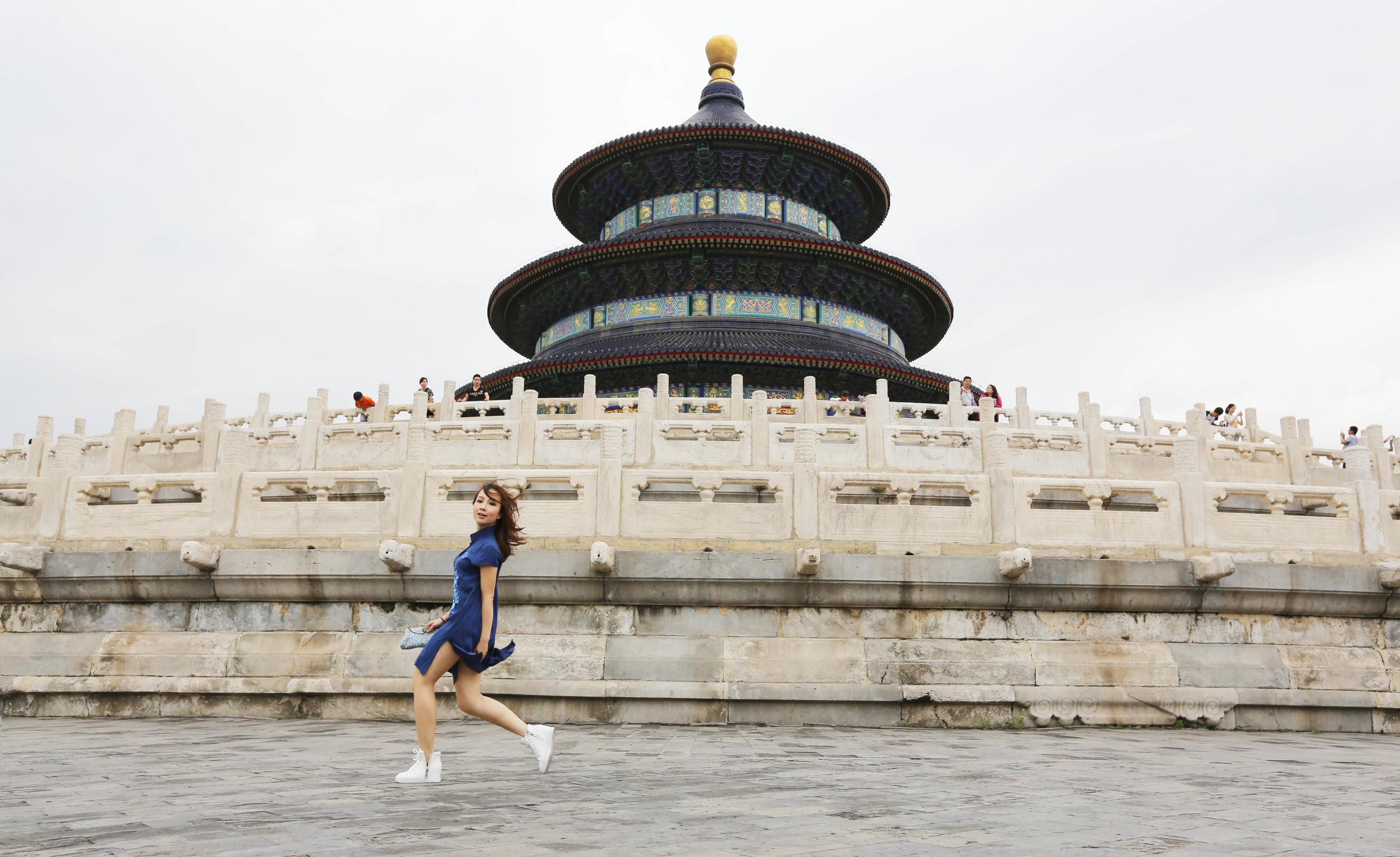 Travel in Beijing:TianTan fashionshoot.JPG
