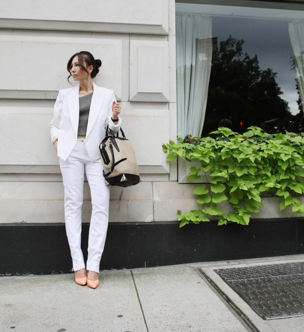 {OUTFITS} HOW TO WEAR WHITE-THE ALL WHITE TREND