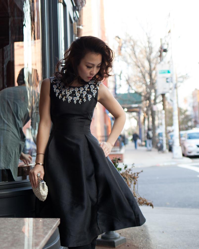 black fit and flare midi dress.jpg