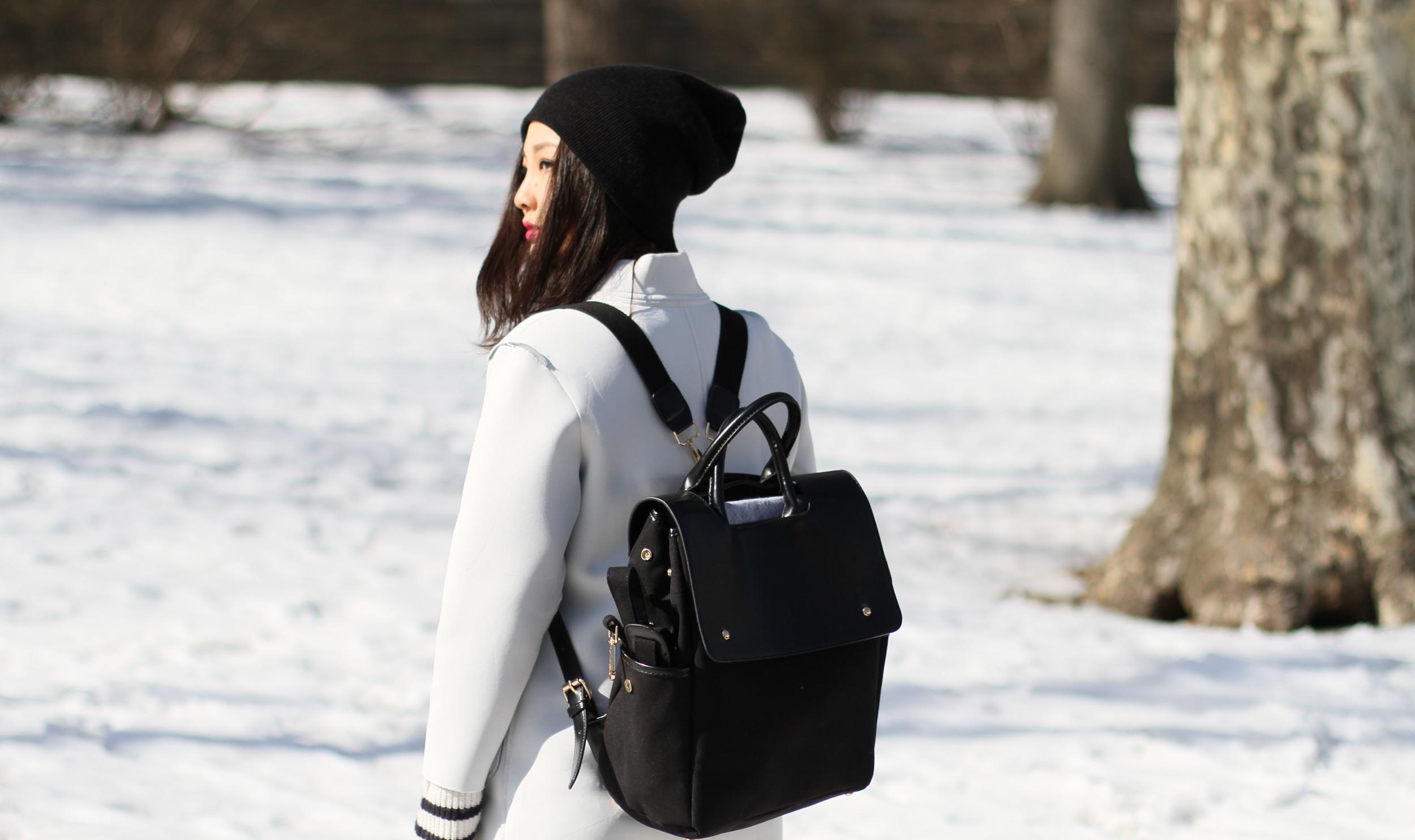 Black canvas Backpack 2.JPG