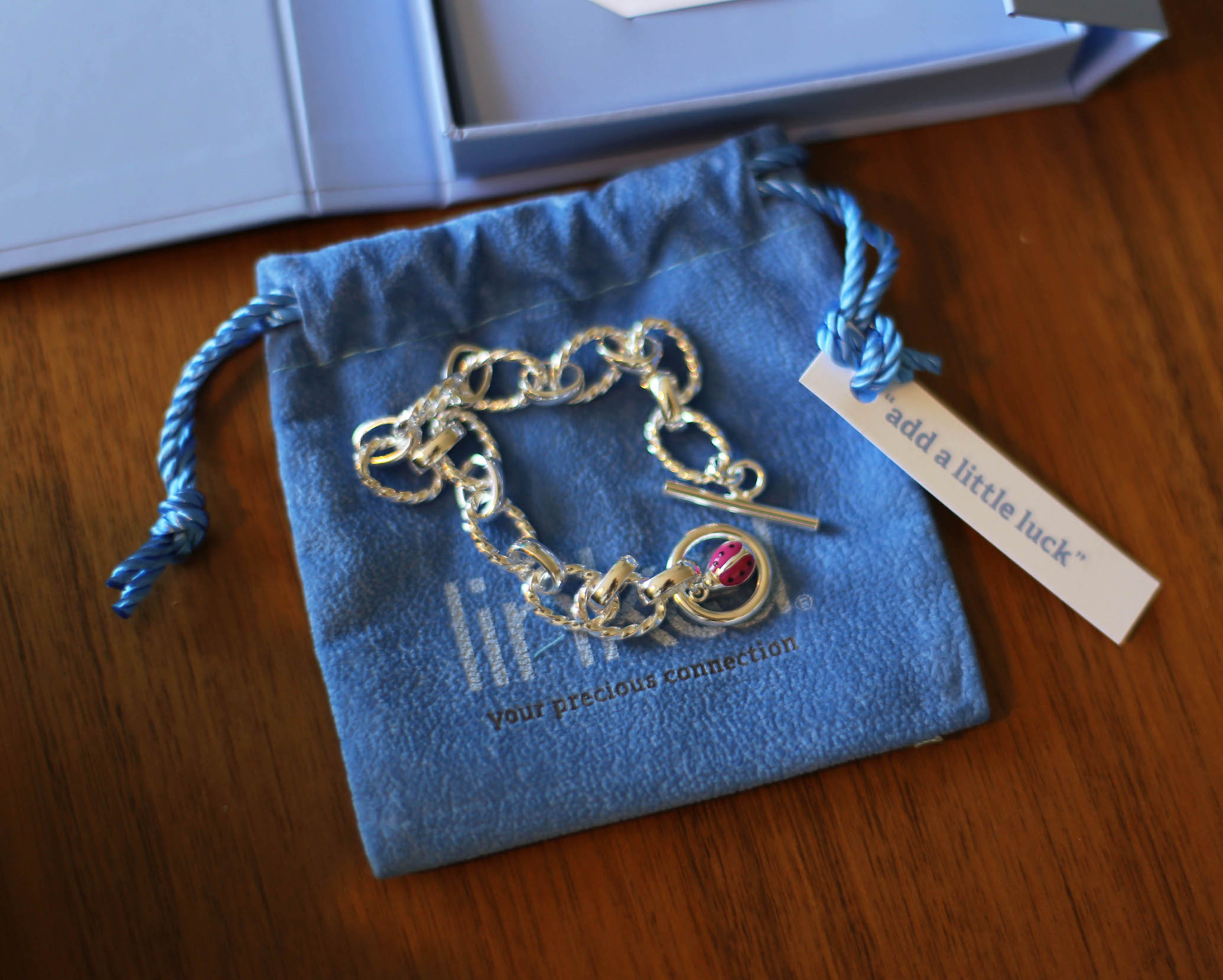 Linked Jewelry add a little luck bracelet 2.jpg