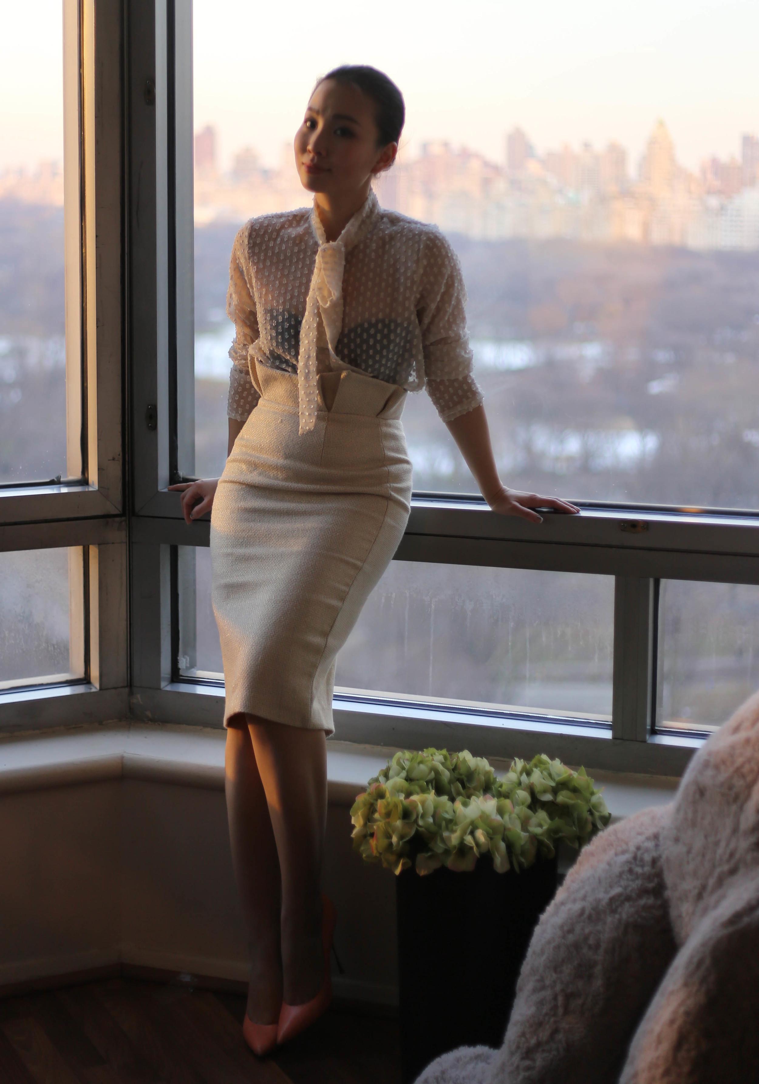sheer blouse and pencil skirt.jpg
