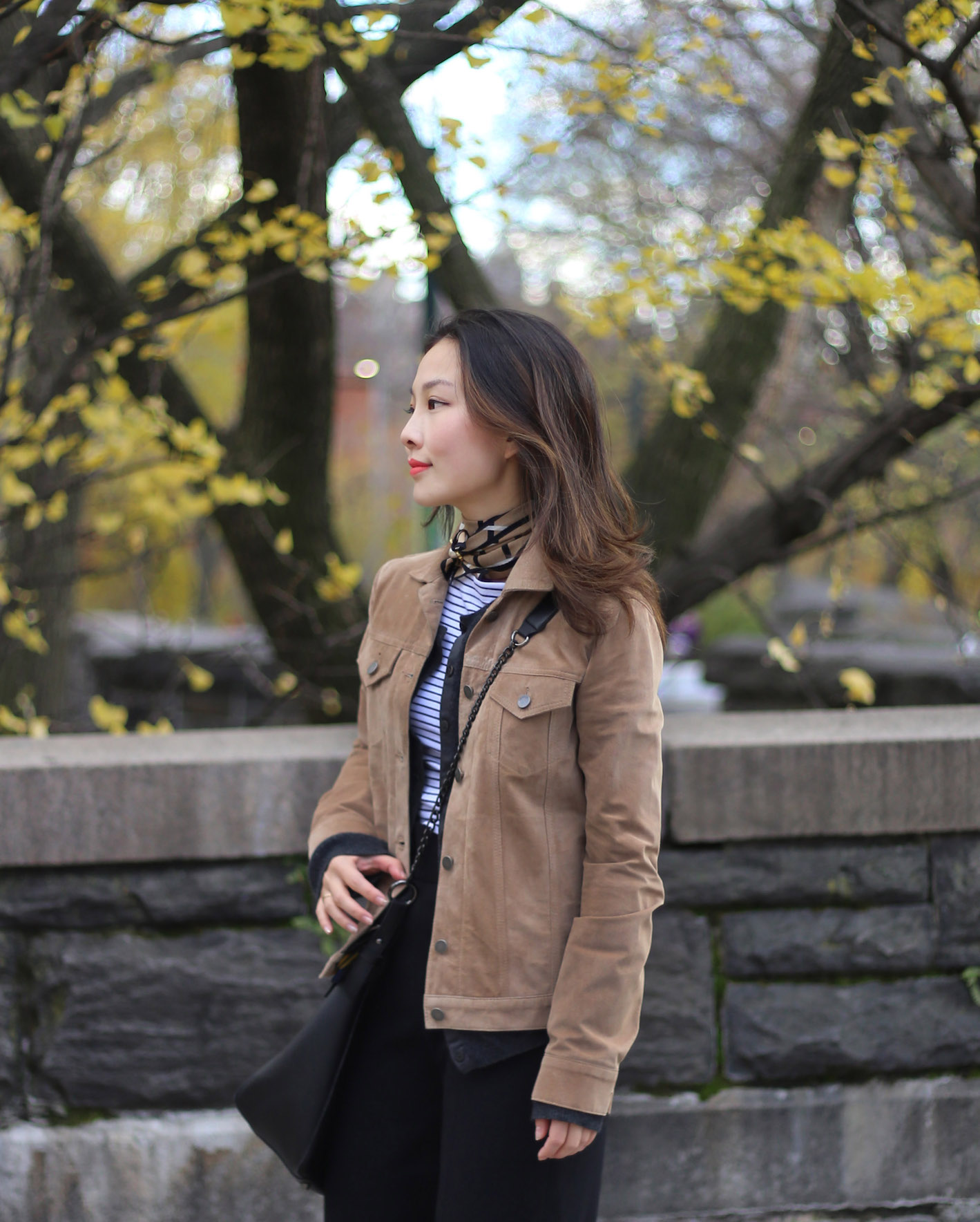 tan suede leather jacket outfit.JPG