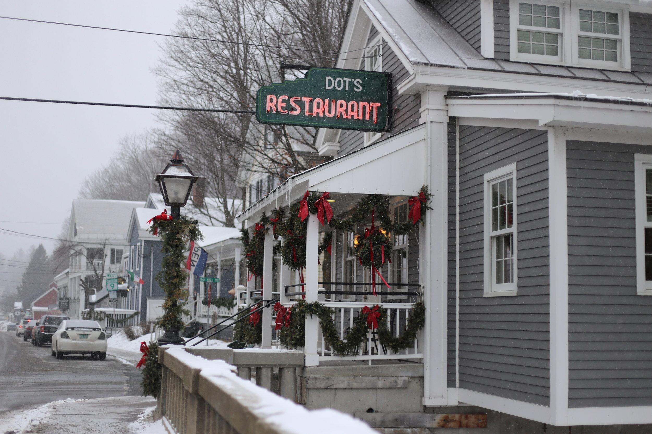 dots restaurant vermont.JPG