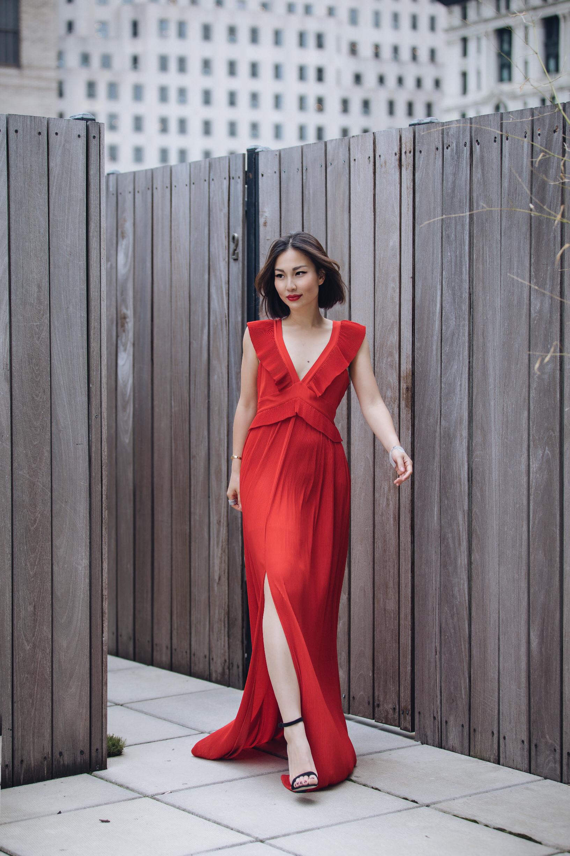 chelsea and walker red dress.JPG