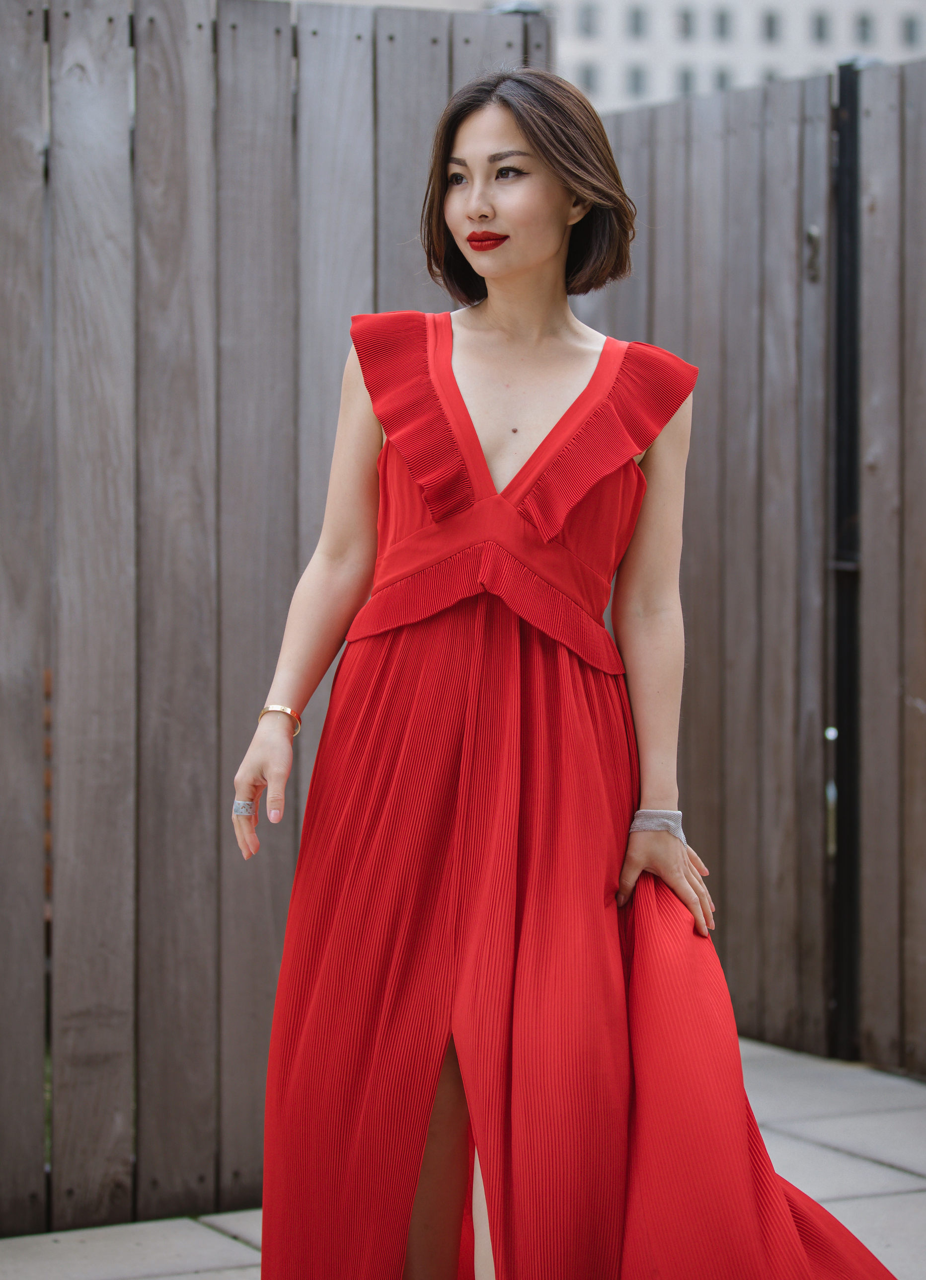 chelsea and walker red dress 4.JPG