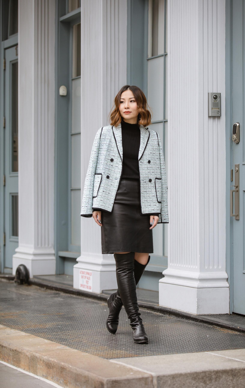 st john knits adriana multi tweed jacket spring 2018 collection.JPG