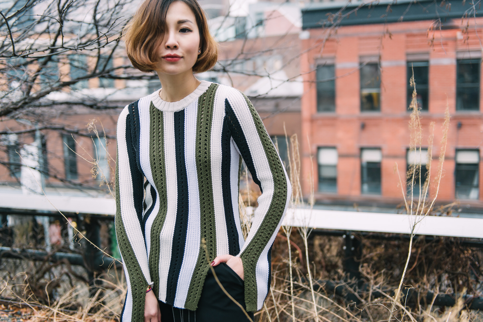 Army Multi Sweater -