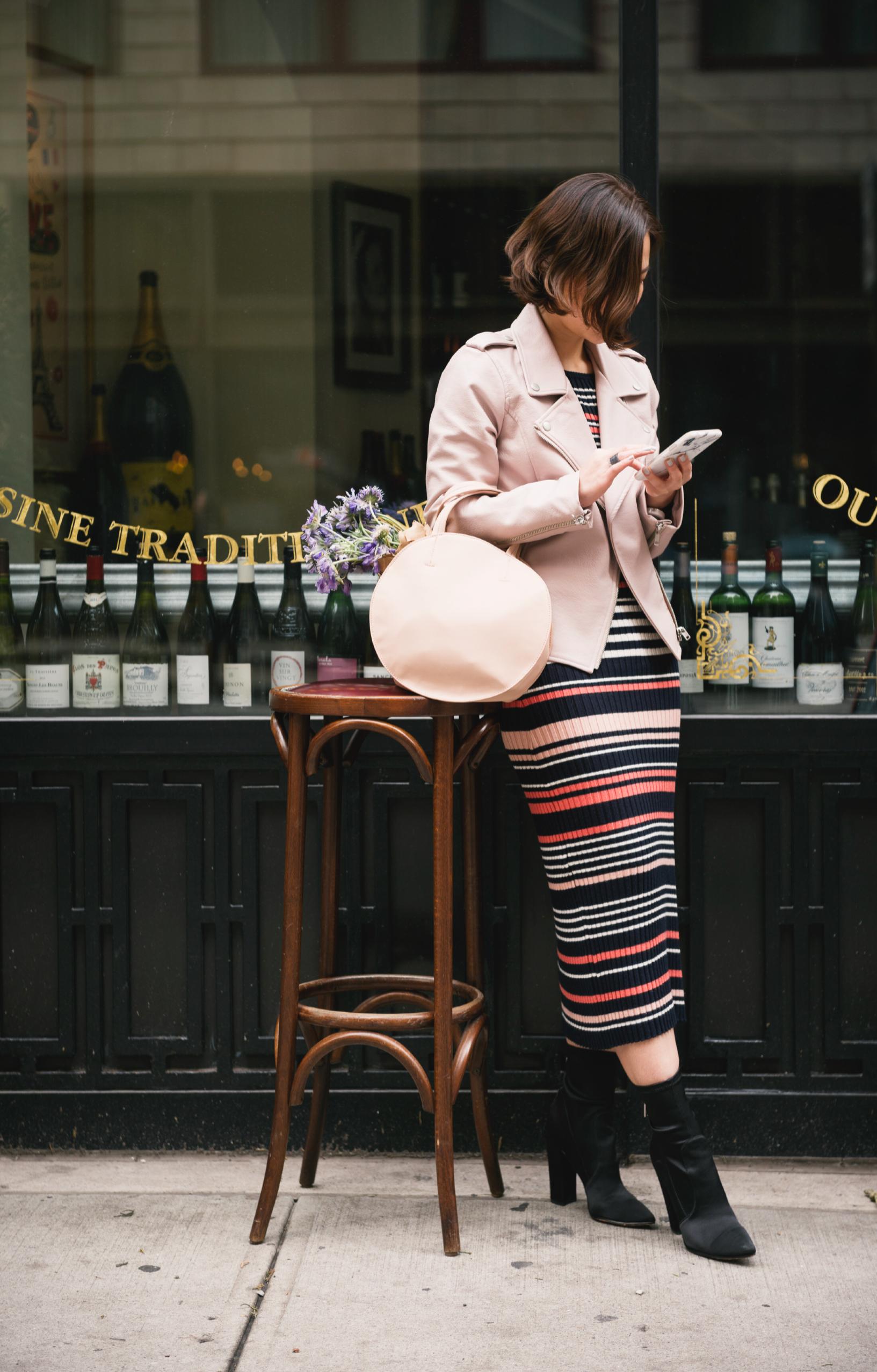the shopping bag heeled booties.JPG